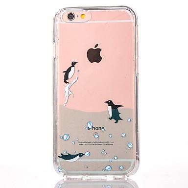 Uyumluluk iPhone 7 Kılıf iPhone 7 Plus Kılıf iPhone 6 Kılıf Kılıflar Kapaklar Temalı Arka Kılıf Pouzdro Hayvan Sert PC için Apple iPhone