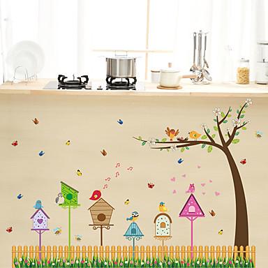 Hayvanlar Karton Müzik Duvar Etiketler Uçak Duvar Çıkartmaları Dekoratif Duvar Çıkartmaları,Kağıt Malzeme Ev dekorasyonu Duvar Çıkartması