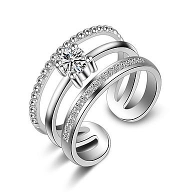 Yüzükler Düğün Parti Günlük Mücevher alaşım Gümüş Kaplama Midi Yüzükler Evlilik Yüzükleri Eklem Yüzükleri 1pc,Tek Beden Altın Gümüş