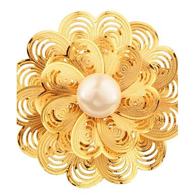 نساء دبابيس لؤلؤ تقليدي ورد لؤلؤ تقليدي موضة اللؤلؤ مجوهرات من أجل زفاف حزب يوميا فضفاض