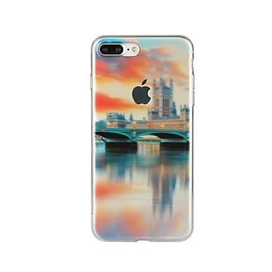 Kılıf Na iPhone 7 iPhone 7 Plus iPhone 6s Plus iPhone 6 Plus iPhone 6s iPhone 6 Apple iPhone 7 iPhone 7 Plus iPhone 6 Wzór Czarne etui