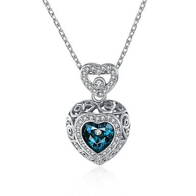 Γυναικεία Καρδιά Εξατομικευόμενο Μοναδικό Κρεμαστό Love Καρδιά Μοντέρνα Πανκ Προσαρμόσιμη Λατρευτός Χιπ-Χοπ Euramerican χαριτωμένο στυλ