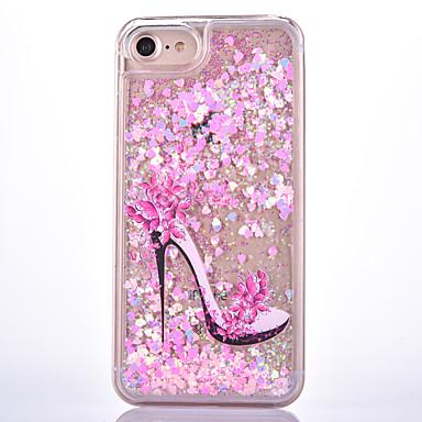 Käyttötarkoitus iPhone 7 kotelo iPhone 7 Plus kotelo kotelot kuoret Virtaava neste Kuvio Takakuori Etui Sexy Lady Kova PC varten Apple
