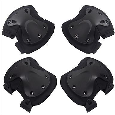 4 buc negru uliu protector de cs de echitatie in aer liber genunchieră cot bretele set accesorii pentru motociclete