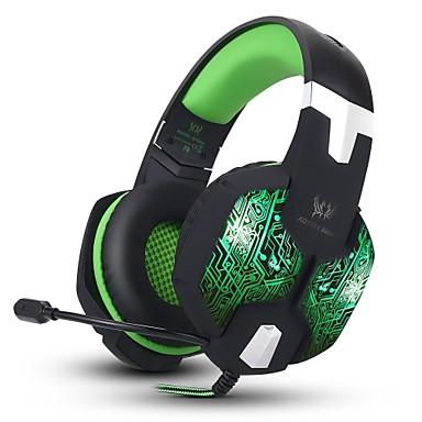 KOTION EACH G1000 Ponad uchem / Opaska na głowę Przewodowy / a Słuchawki Piezoelektryki Plastikowy Rozrywka Słuchawka Z kontrolą