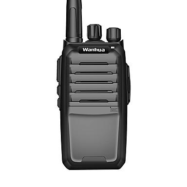 Wanhua w3600 εμπορικό επαγγελματικό ασύρματο walkie-talkie 6W UHF 403-470mhz