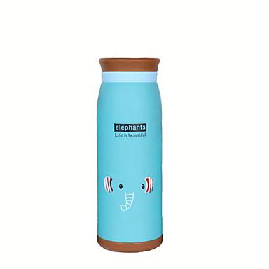 كرتون أدوات الشرب, 500 ml الاحتفاظ بالحرارة العزل الحراري الفولاذ المقاوم للصدأ شاي عصير كأس فراغ كأس ماء × 2