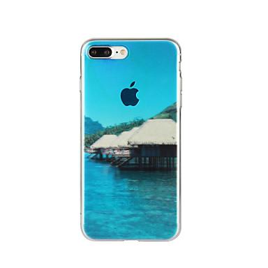Için Temalı Pouzdro Arka Kılıf Pouzdro Manzara Yumuşak TPU için Apple iPhone 7 Plus iPhone 7 iPhone 6s Plus/6 Plus iPhone 6s/6