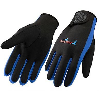 Rękawice do nurkowania Rękawiczki sportowe Rękawiczki rowerowe Nylon Full Finger Keep Warm Quick Dry Anatomiczny kształt Ochronne