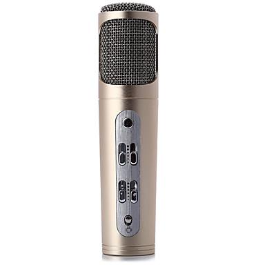 Puhelimen k laulu omistettu mikrofoni mini mikrofoni mix master on täysin yhteensopiva PC Android ios