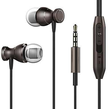 Neutralny wyrobów T1 Słuchawki douszneForOdtwarzacz multimedialny / tablet Telefon komórkowy KomputerWithz mikrofonem DJ Regulacja siły