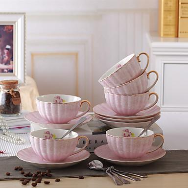 أواني الشرب اليومية أواني الشرب الطريفة أكواب الشاي زجاجات المياه أقداح القهوة شاي ومشروبات 1 خزفي, -  جودة عالية