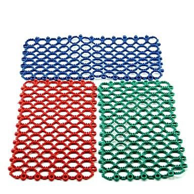 مطاط ضد الماء الفراش و القمامة أحمر أخضر أزرق