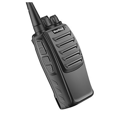 Wanhua wh36 radiopuhelintoiminto UHF 403-470mhz liike kaksisuuntainen radiot ammattilainen kaukoliikenteen