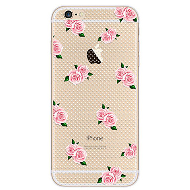 Na Ultra cienkie Wzór Kılıf Etui na tył Kılıf Kwiat Miękkie TPU na Apple iPhone 7 Plus iPhone 7 iPhone 6s Plus/6 Plus iPhone 6s/6