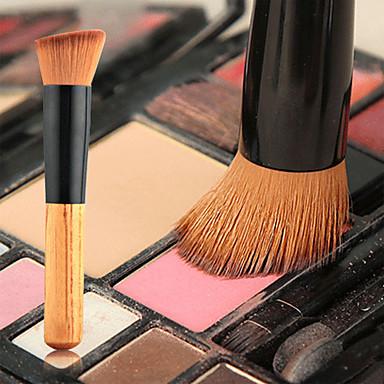 1 Pędzle do makijażu Profesjonalny Pędzelek do podkładu Pędzel nylonowy / Włosie synetyczne Przenośny / a / Ekologiczne / Profesjonalny /