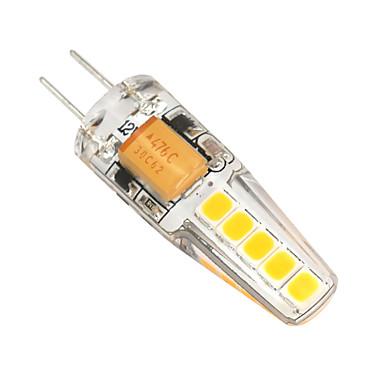 2W 180-200lm G4 Żarówki LED bi-pin T 10 Koraliki LED SMD 2835 Przysłonięcia Ciepła biel Zimna biel 12V