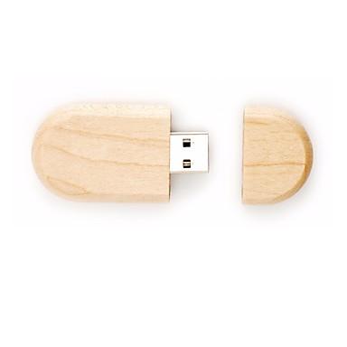 16GB usb 2.0 flash sürücü tahta kalem usb diski dirve
