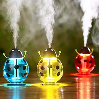 1PC الإبداعية سيارة ضوء الليل المرطب USB كتم الصوت مصغرة لطيف هدية هدية عيد ميلاد ليلة ضوء اجتماع