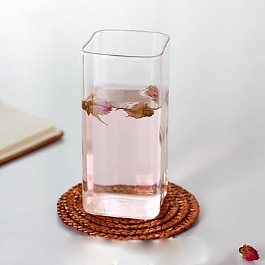 Przezroczyste Szklanki, 200 ml Dekoracja Szkło Sok mleko Filiżanki do herbaty