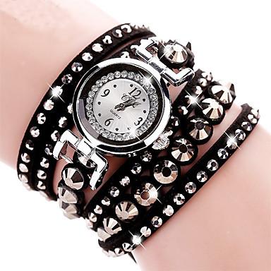 Damskie Dla dzieci Sztuczny Diamant Zegarek Zegarek na nadgarstek Zegarek na bransoletce Do sukni/garnituru Modny Kwarcowy sztuczna