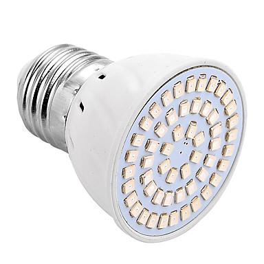 E26/E27 LED Φώτα Καλλιέργειας 54 leds SMD 2835 200-300lm Κόκκινο Μπλε