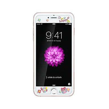 Προστατευτικό οθόνης Apple για iPhone 6s Plus iPhone 6 Plus Σκληρυμένο Γυαλί 1 τμχ Προστατευτικό μπροστινής οθόνης Μοτίβο Κυρτό άκρο 2,5D