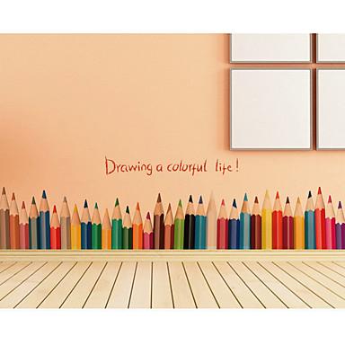 لواصق حائط مزخرفة - لواصق حائط الطائرة أزياء / وقت الفراغ / عطلة غرفة النوم / غرفة الطعام / غرفة دراسة / مكتب