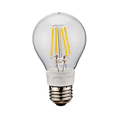 GMY® 1pc 6W 650-750 lm E26 LED Filaman Ampuller A60(A19) 4 led COB Serin Beyaz 6500 K AC 110-130 V