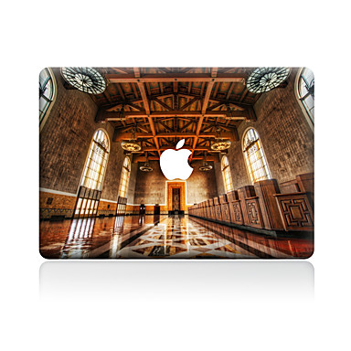 1 قطعة مقاومة الحك منظر بلاستيك شفاف لاصق الجسم نموذج إلىMacBook Pro 15'' with Retina MacBook Pro 15'' MacBook Pro 13'' with Retina
