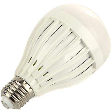 1szt 9W 800 lm E27 Żarówki LED kulki A60(A19) 18 Diody lED SMD 5730 Dekoracyjna Ciepła biel Zimna biel 3000/6000 K V