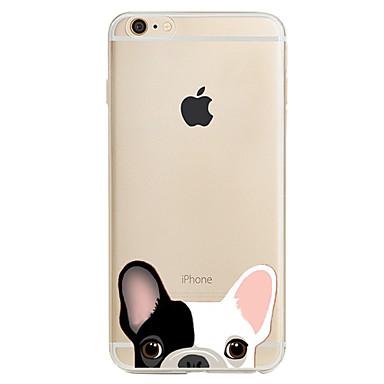 Etui Käyttötarkoitus Apple iPhone X iPhone 8 iPhone 5 kotelo iPhone 6 iPhone 7 Kuvio Takakuori Koira Pehmeä TPU varten iPhone X iPhone 8