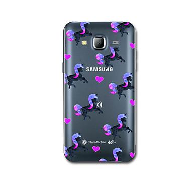 tok Για Samsung Galaxy J7 (2016) J5 (2016) Εξαιρετικά λεπτή Με σχέδια Πίσω Κάλυμμα Μονόκερος Μαλακή TPU για J7 (2016) J7 J5 (2016)