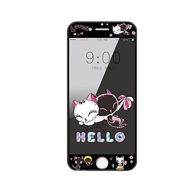 Apple iPhone 7 PLUS 5,5 calowym ekranem szkło hartowane osłoną z miękkiej krawędzi pełne pokrycie Ekran przedni ochraniacz kreskówki wzór