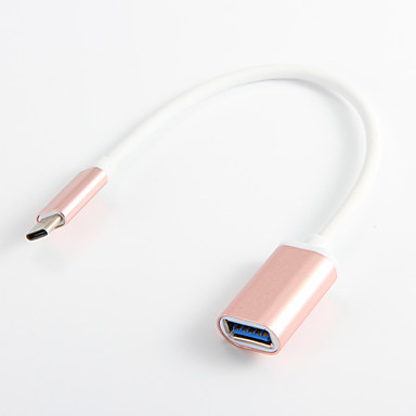 USB 3.0 Τύπος-C Προσαρμογέας καλωδίου USB Φορητό Adaptér Για Samsung Huawei LG Nokia Lenovo Motorola Xiaomi HTC Sony 20 cm PVC