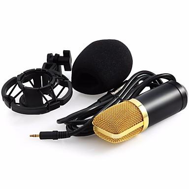 Professional BM-700 Condenser KTV Microphone BM700 Cardioid Pro Audio Studio Vocal Recording Mic KTV Karaoke+ Metal Shock Mount السلكية