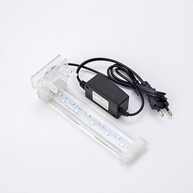 أحواض السمك ضوء LED أبيض مع قواطع مصباح LED 220VV
