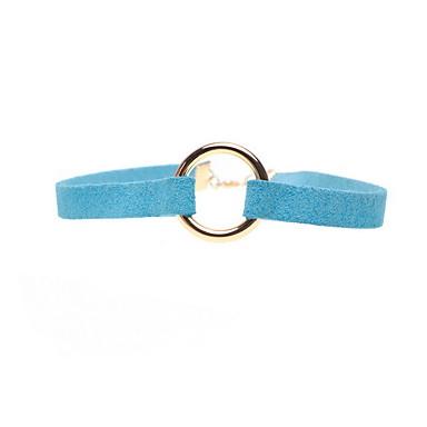 Gerdanlıklar Mücevher Circle Shape Heart Shape Kumaş alaşım Kişiselleştirilmiş Avrupa Moda Euramerican minimalist tarzı Mücevher Uyumluluk