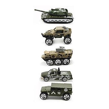 Jucării pentru mașini Seturi de joc pentru vehicule Model Mașină Vehicul Militar Jucarii Simulare Car de Război Aliaj Metalic Plastic