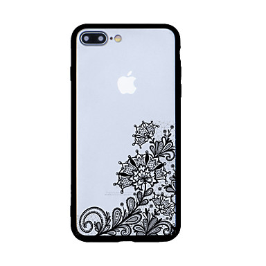 Varten Kuvio Etui Takakuori Etui Pitsidesign Kova Akryyli varten Apple iPhone 7 Plus iPhone 7 iPhone 6s Plus iPhone 6s iPhone SE/5s