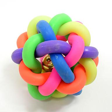 Owalne Zabawki do żucia Interaktywne Zabawka do czyszczenia zębów Zabawki piszczące Rysunek Pisk Elastyczny Trwały Halloween Tkany Piłka
