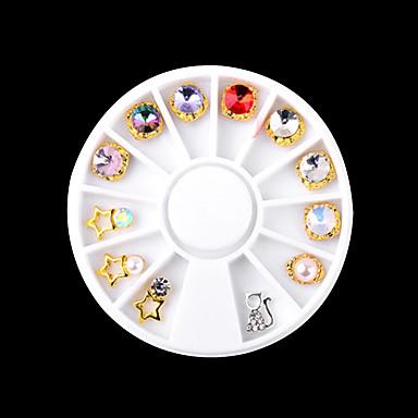 1 Nail Art Διακόσμηση rhinestone Μαργαριτάρια μακιγιάζ Καλλυντικά Σχεδιασμός νυχιών Τέχνης