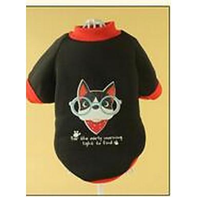 Pies Płaszcze Ubrania dla psów Ciepły Urocza W stylu brytyjskim Black Green Niebieski Różowy Kostium Dla zwierząt domowych