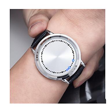 Ανδρικά Αθλητικό Ρολόι Ηλιακή Ενέργεια / Plastic Μπάντα Βίντατζ Μαύρο