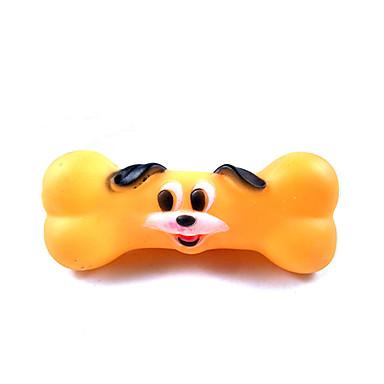 Zabawki do żucia Interaktywne Zabawka do czyszczenia zębów Zabawki piszczące Rysunek Pisk Elastyczny Trwały Halloween Pies Kot Kość Kość
