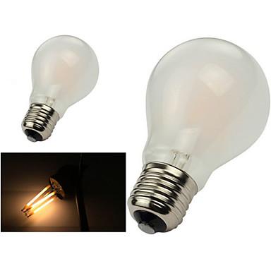 ONDENN 1pç 2800-3200 lm E26/E27 Lâmpadas de Filamento de LED A60(A19) 8 leds COB Regulável Branco Quente AC 110-130V AC 220-240V