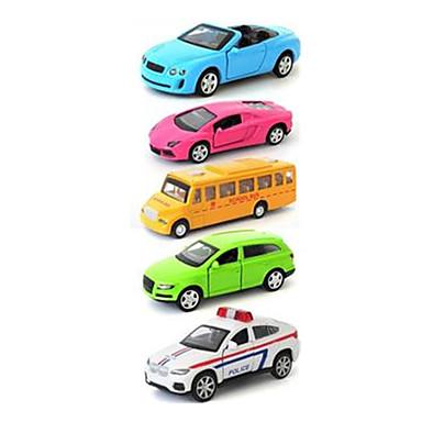 لعبة سيارات Playsets السيارة سيارة سباق سيارة الشرطة ألعاب محاكاة سيارة سبيكة معدنية بلاستيك الحديد معدن كلاسيكي & خالد أنيقة & حديثة 1