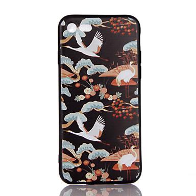 Için Ultra İnce Süslü Temalı Pouzdro Arka Kılıf Pouzdro Hayvan Yumuşak TPU için AppleiPhone 7 Plus iPhone 7 iPhone 6s Plus/6 Plus iPhone
