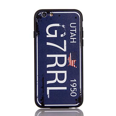 Kılıf Na Apple Ultra cienkie Etui na tył Napis Twarde PC na iPhone 7 Plus iPhone 7 iPhone 6s Plus iPhone 6 Plus iPhone 6s iphone 6