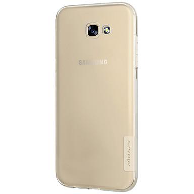 tok Για Samsung Galaxy A5(2017) A3(2017) Εξαιρετικά λεπτή Διαφανής Πίσω Κάλυμμα Συμπαγές Χρώμα Μαλακή TPU για A3 (2017) A5 (2017) A7